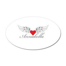 Angel Wings Annabella Wall Decal