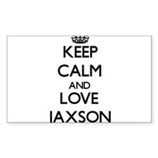 Keep Calm and Love Jaxson Decal