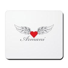 Angel Wings Armani Mousepad