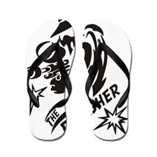 the punisher Flip Flops