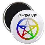 "Elemental Pagan Pride 2.25"" Magnet (10 pack)"