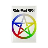 Elemental Pagan Pride Rectangle Magnet