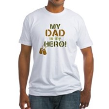 Dog Tag Hero Dad Shirt