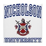 NICHOLSON University Tile Coaster