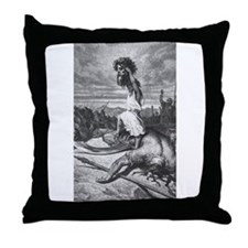 DAVID'S VICTORY Throw Pillow