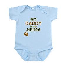 Dog Tag Hero Daddy Onesie