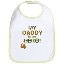 Dog Tag Hero Daddy Bib