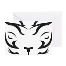 TigerLogo4 Greeting Card
