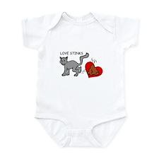 LOVE STINKS Infant Bodysuit