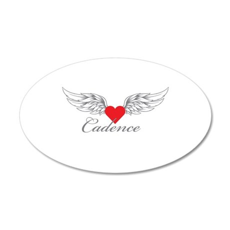 Angel Wings Cadence Wall Decal