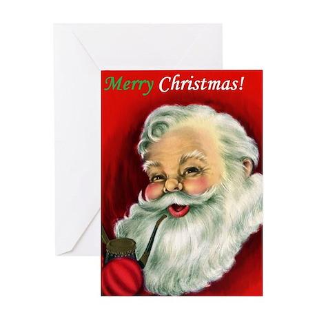 Vintage Santa Claus Greeting Card