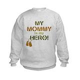 Army mom Crew Neck
