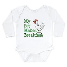 Pet Makes Breakfast Body Suit