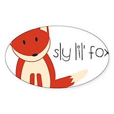 Sly Lil Fox Decal