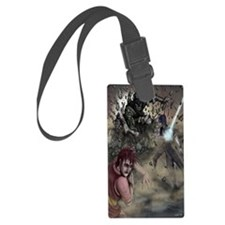 God and Lucifer Vs. Bang Luggage Tag