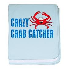 Crazy Crab Catcher baby blanket