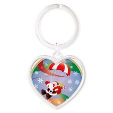 ORNAMENT 6 Heart Keychain