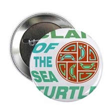 "Clan of the Sea Turtle 2.25"" Button"