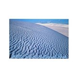 White Sands National Park Rectangle Magnet