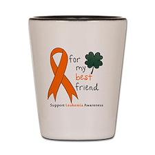 Leukemia awareness pocket Shot Glass