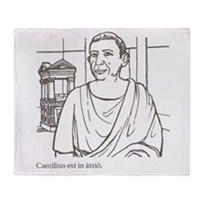 Caecilius_3 Throw Blanket
