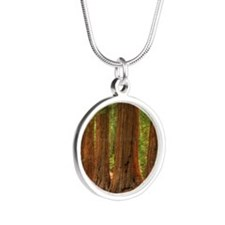 SEQUOIA Silver Round Necklace