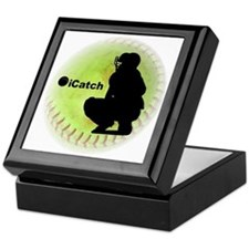 iCatch Fastpitch Softball Keepsake Box