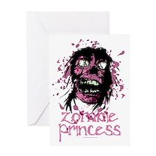 Zombie-Princess Greeting Card