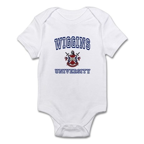 WIGGINS University Infant Bodysuit