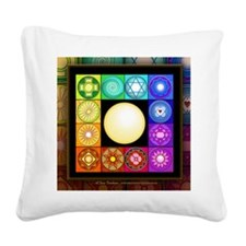 SinglePage-Calendar Square Canvas Pillow
