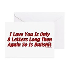 8 Letters Greeting Cards (Pk of 10)