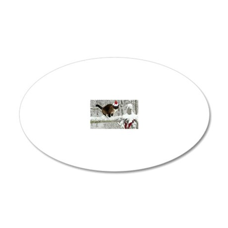 December2011 20x12 Oval Wall Decal