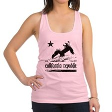 rep_california Racerback Tank Top
