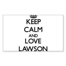 Keep Calm and Love Lawson Decal