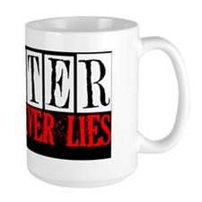 Blood Never Lies Pillow Mug