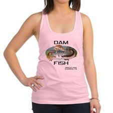 DAMFISH Racerback Tank Top
