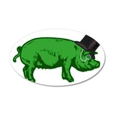 GreenPig Wall Decal
