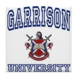 GARRISON University Tile Coaster