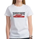 """The World's Greatest Aircraft Technician"" Tee"