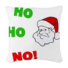 ho-ho-no Woven Throw Pillow