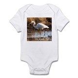 Assateague Island Egret Onesie
