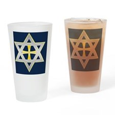 star cross2 copy Drinking Glass