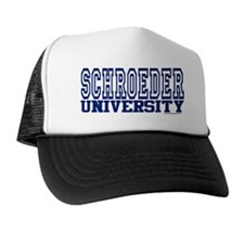 SCHROEDER University Trucker Hat