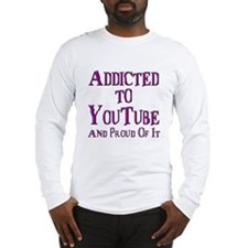 Cute Youtube Long Sleeve T-Shirt