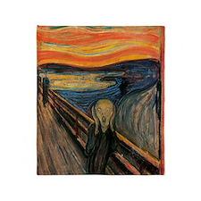 The_Scream_Poster Throw Blanket