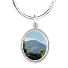BenNevis Silver Oval Necklace