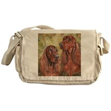 IrishSetter_CB square Messenger Bag