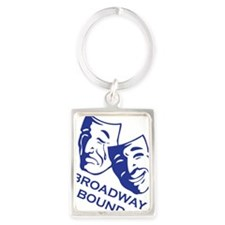 bb_new_blue Portrait Keychain