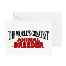 """The World's Greatest Animal Breeder"" Greeting Car"
