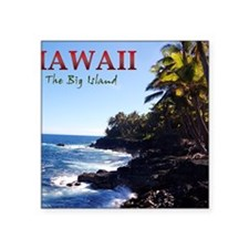 "Hawaii_Cover Square Sticker 3"" x 3"""